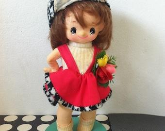 Kawaii vintage Japanese pose doll from Japan