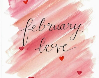 February Love Printable