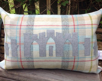 Large FYRISH oblong cushion. 2 sizes to choose from. Scotland Scottish highlands gift