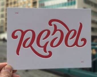 Rebel/Rebel Ambigram