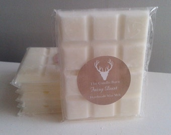 Exquisite Handmade Highly Scented Soy Wax Breakaway Melt Bar- FAIRY DUST