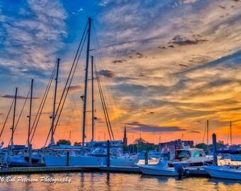 Annapolis Sunset IV