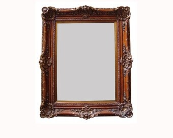 SOLD: Large Mirror; Beveled Edge
