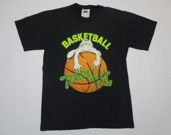 Lifeforms Basketball Toadally Rules T-Shirt 1990s Youth M