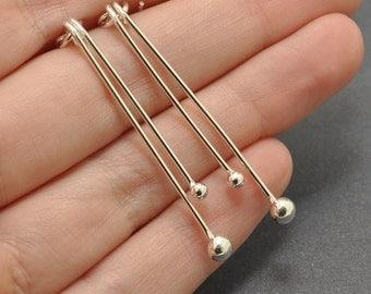 Dangle Earrings, Sterling Silver Earrings, handmade, 20 gauge, drop earrings
