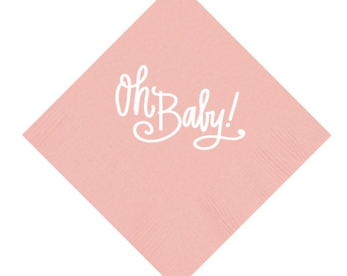 Oh Baby! Napkins (Qty 25)