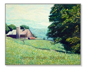 Barn Art Barn Painting Barn Print. Farm Country Art Country Decor Farm Art Farm Painting Farm Print Farm Decor Farm Country Landscape Print.