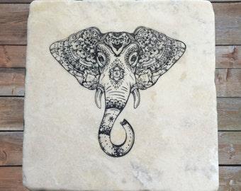 Elephant Drink Coasters Set