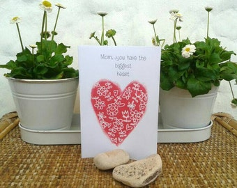 Mother's day greeting card-printable-present for mother-mom