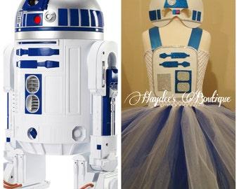 R2D2 Tutu Dress