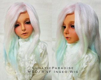 Pastel Rainbow Ingeo MNF/MSD Wig