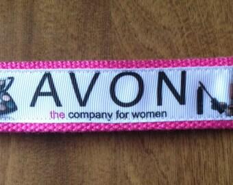 Avon Key Chain Key Fob Wristlet