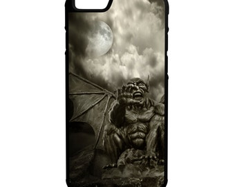 Night Demon iPhone Galaxy Note LG HTC Hybrid Rubber Protective Case