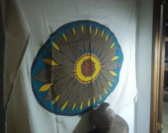 Desert sunflower in full bloom.