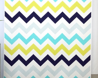 Chevron Photography Background Boys blue green photo drops, Children photography backdrop for Birthday Day photoshoot- Item D6534