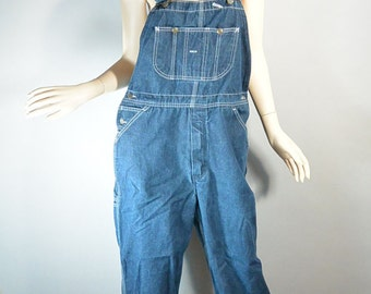 Sears Roebuck Vintage Overall// Farmer Style Overall// 80s Overalls