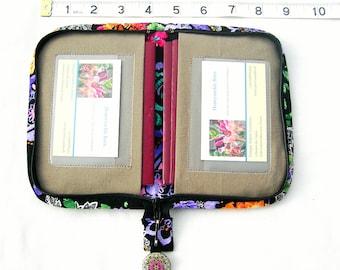 Zip around wallet. Zip around passport wallet. Small passport wallet. Zipped wallet for passports. Family passport holder. Small wallet.