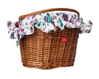 Owls, Water-Repellent Basket Cover