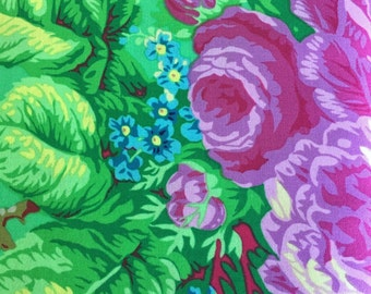 Floral Delight by Phillip Jacobs for Westminster Fabrics in Green Half Yard