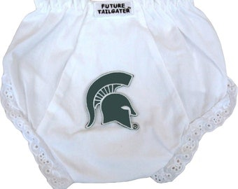 Michigan State Spartans Baby Diaper Cover