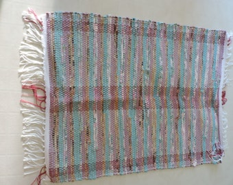 Hand Woven Rag Rug (16-13)