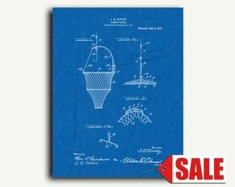 Patent Art - Fishing-tackle Patent Wall Art Print