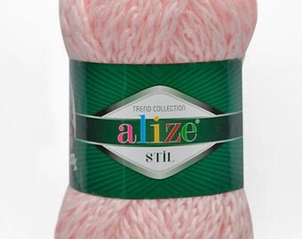 Pack of Super Bulky High Quality Alpaca and Wool Yarn with Polyester and Acrylic fibers - Alize STIL - Turkish Yarn for crochet and Knitting