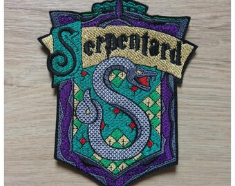 Large Crest House Slytherin Harry Potter collection