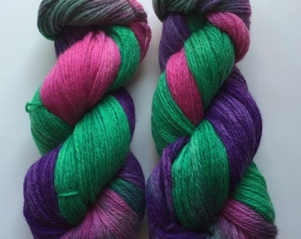 Hand Dyed Yarn | Hand Painted Yarn | 100% merino wool | worsted weight | 100 gr | Royal Court