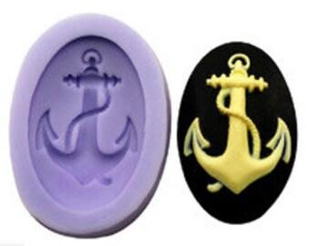 Sailors Anchor Silicone Mold