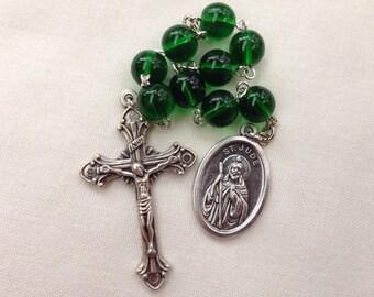 St Jude Chaplet // Catholic prayer chaplet