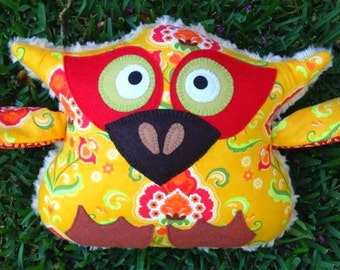 Little Yellow Hoot the Owl