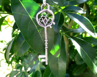 Magic Key Pendant - Sterling silver. Only on order
