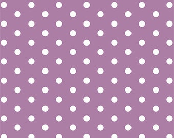 Orchid Dots in KNIT, Modern Reflection Collection, BOLT by Girl Charlee, Made in USA, Cotton Jersey Knit Fabric 5629