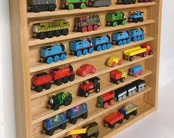 Thomas Tank Engine / Brio Train Display Case Shelf- Handcrafted