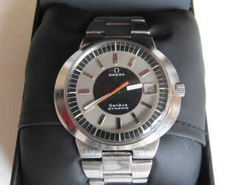 1970s Vintage Mens' Omega Dynamic Automatic Watch