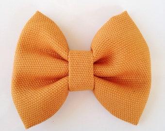 Bow/Burnt Orange/Headband/ Hair clip/ Baby/ Toddler/ Girl