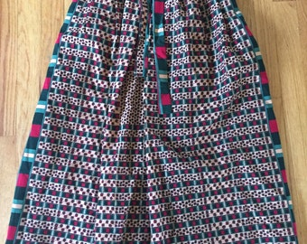 Adorable vintage extra small/small wrap skirt
