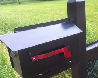Steel  Custom Mailbox Metal Mailbox Steel Customizable Mailbox