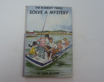 The Bobbsey Twins Solve a Mystery, Bobbsey Twins Series, Laura Lee Hope, #27, Childrens Book Series, Vintage Books