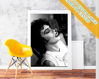 Rocky Horror Picture Show Tim Curry  frank n furter - Wall Art Print POster Rolled  Hollywood's Golden Age Famous Film Stars Photo