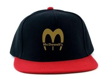 Coming To America: Mcdowells Logo Snapback Cap