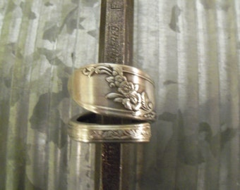 Spoon Ring--Size 9.75