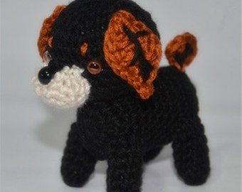 Tea dog Cute dog Knitted Toy - Hand Knitted Animal - Plush Knitted Toy - Kids Toy - Plush Doll - Kids Gift Children Gift- baby gift