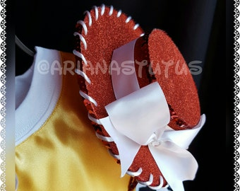 Toy Story Jessie Hat, Jessie Fascinator, Mini Jessie Hat
