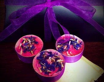 Fairy Three wishes candle trio