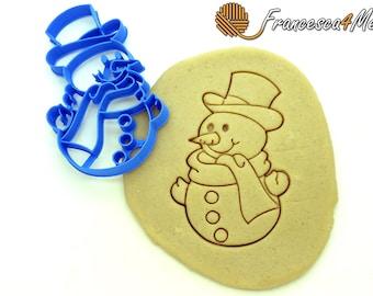 Snowman Cookie Cutter/Multi-Size