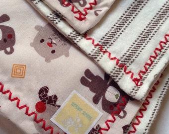 Light-weight baby blanket