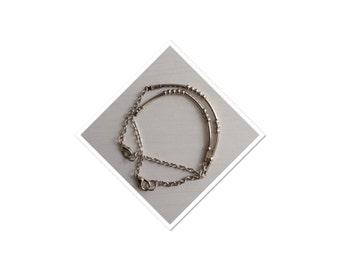 BFF morse code attitude bracelets
