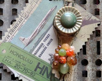 Greenlight Kitchen- Hardware Necklace, Re-purposed